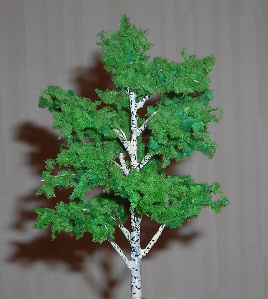 Как сделать деревья для поделки своими руками