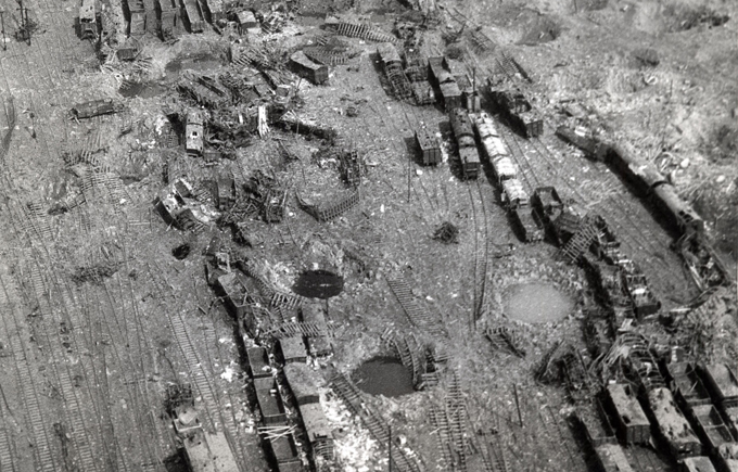 Бомбардировки железной дороги