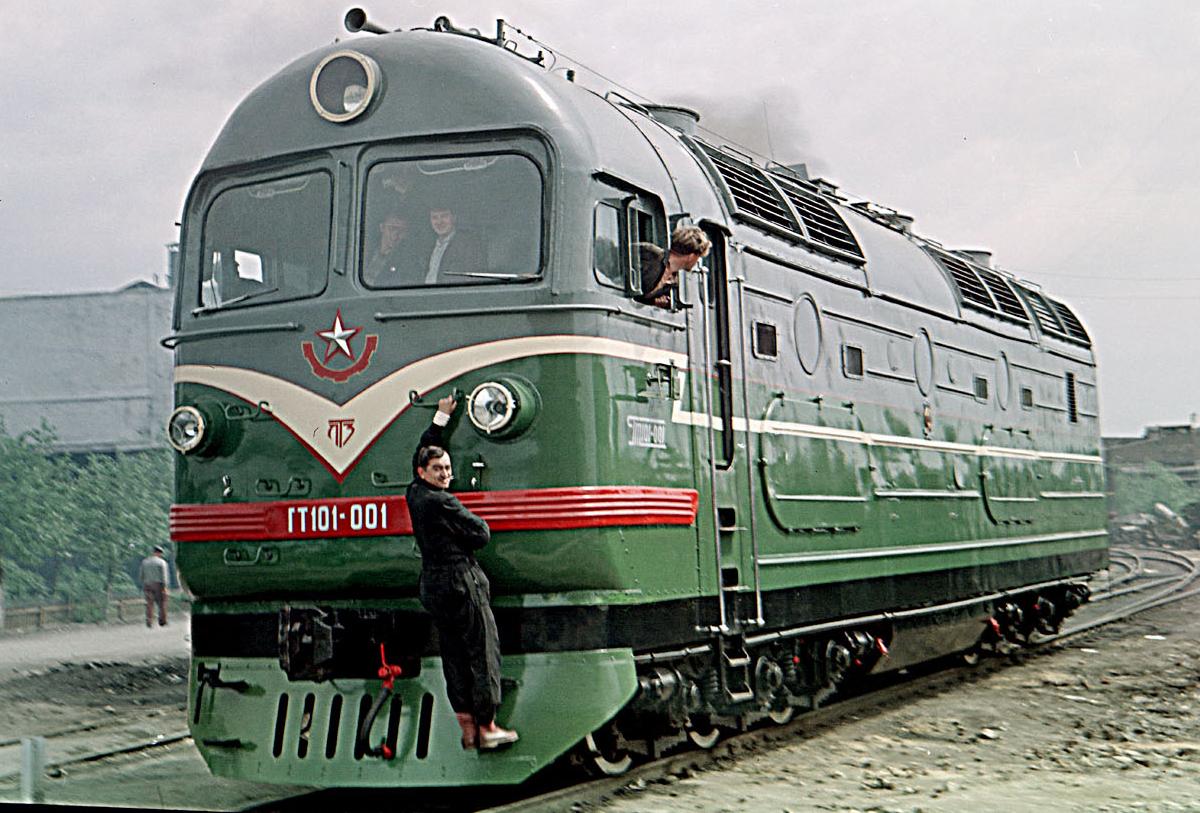 Газотурбовоз ГТ101