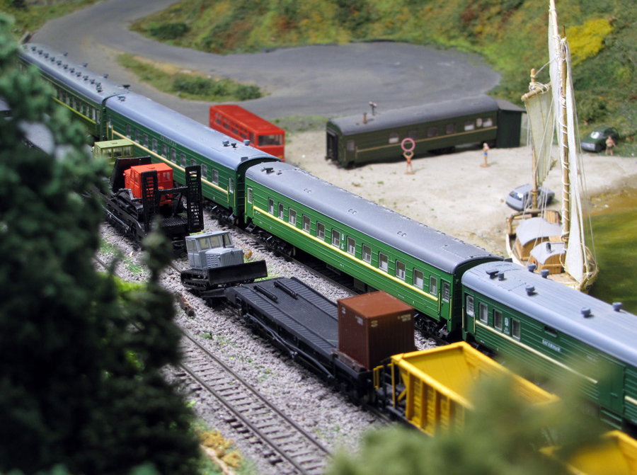 Модель восстановительного поезда