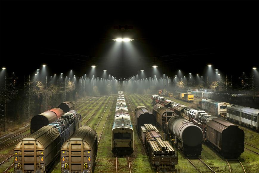 Освещение сортировочной станции