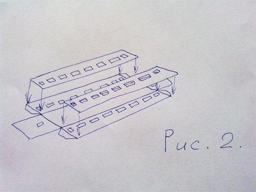 Как из картона сделать вагон 4 класс
