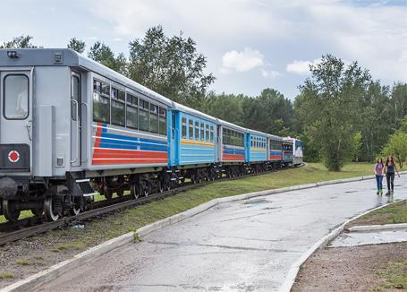 Поезд на ДЖД