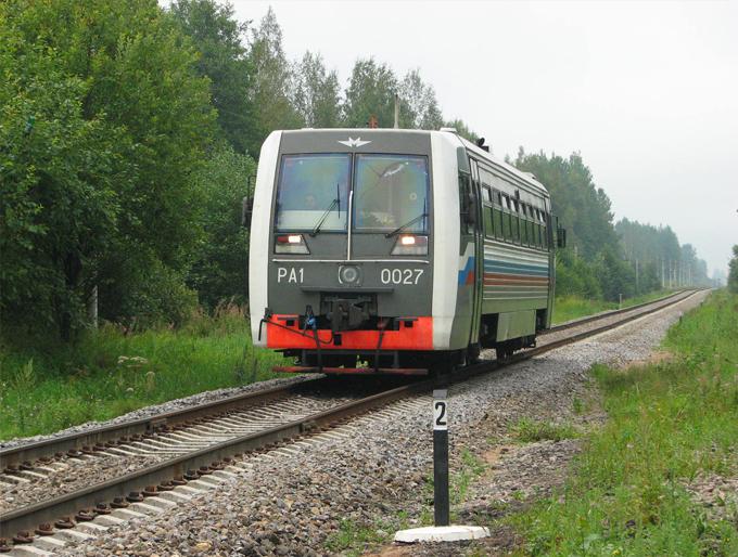 Рельсовый автобус РА-1