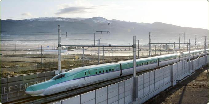 Высокоскоростной электропоезд Shinkansen